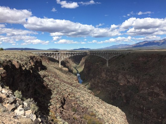 Enchanted Circle Drive: Rio Grande gorge bridge just outside of Taos on US 64.
