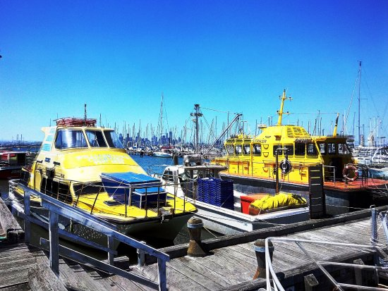 Williamstown, Australia: Colourful boats.