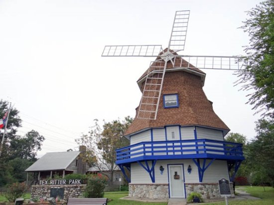 Nederland, เท็กซัส: the Dutch windmill