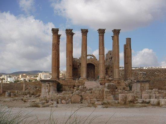 Jerash, Ürdün: Temple