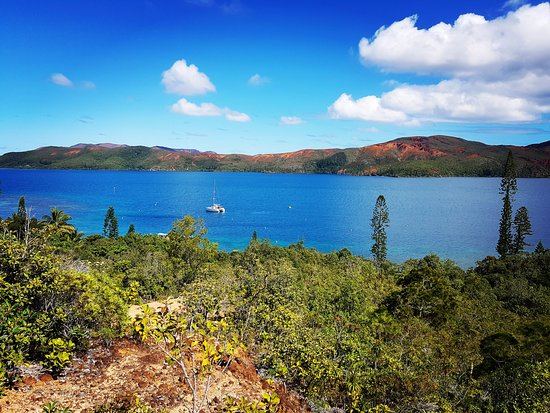 Grande Terre, Nueva Caledonia: Vue depuis l'ilot Casy, Mont-Dore