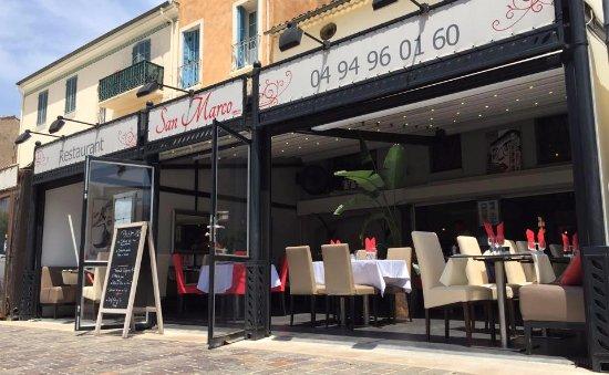 Restaurant San Marco Sainte Maxime