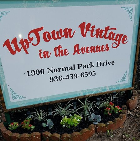 Uptown Vintage in the Avenues: Look for our sign