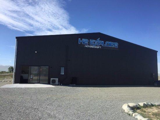 Twizel, Nueva Zelanda: Our office at 1 Swallow Drive