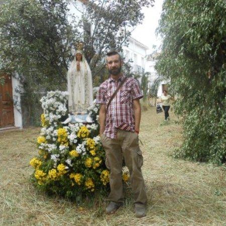 Esta foto es en el famoso Corpus Christi de El Gastor CÀDIZ.