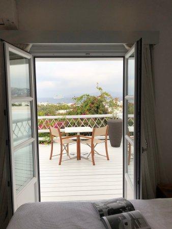 Belvedere Hotel Mykonos: Balcony