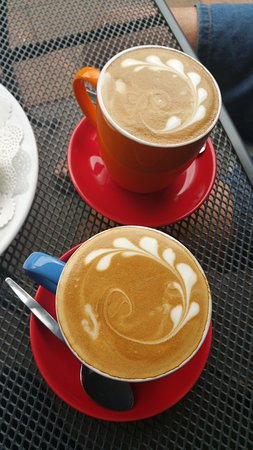 Denman, Australia: Delicious coffee