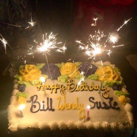 Mai Kai Restaurant Birthday Candles Cake Wishes