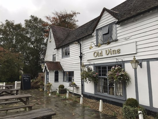 Wadhurst, UK: Entrance to the Old Vine