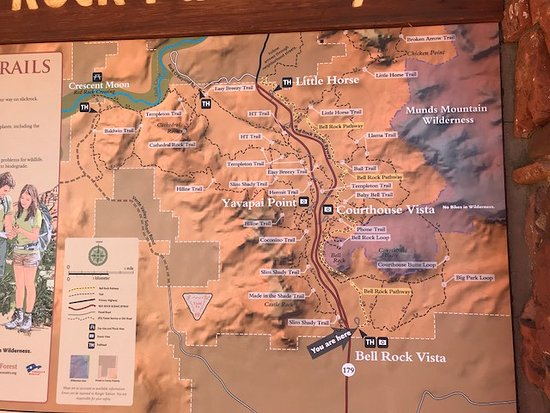 Trail System at Bell Rock