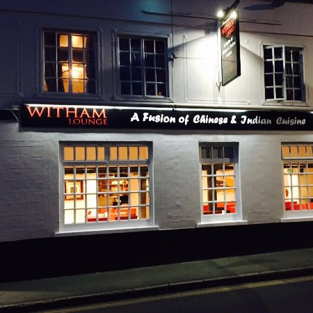 Witham, UK: restaurant outside