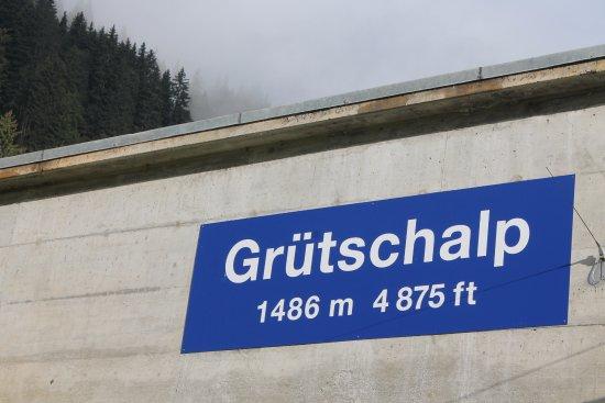 Lauterbrunnen: funicular up to Grutschalp