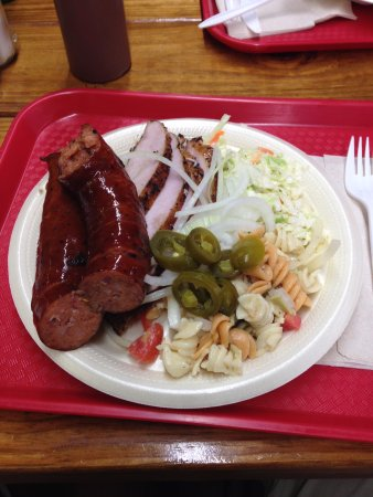 Junction, TX: Two meat plate