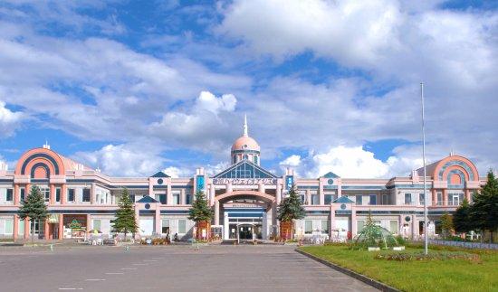 Sunagawa Highway Oasis : 砂川ハイウェイオアシス館全景写真です