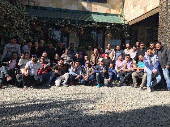 Shervani Hilltop: Group photo