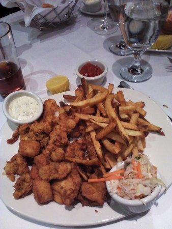 Atlantic fish company boston back bay menu prices for Atlantic fish fry