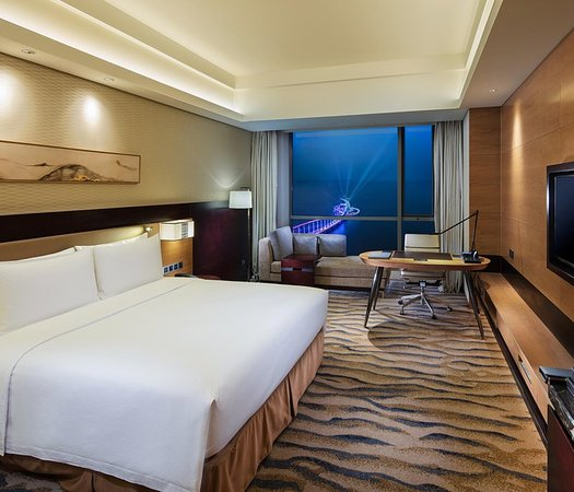 Γιαντάι, Κίνα: Hotel Exterior-Night  View