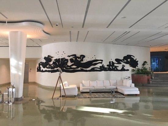 Shore Club South Beach Hotel: 호텔로비