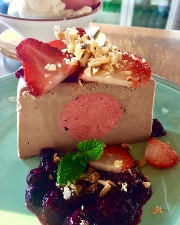 Wangaratta, Austrália: Semi freddo dessert