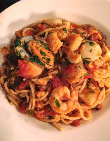 Wangaratta, Austrália: Seafood spaghetti