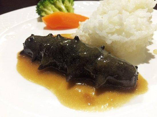 Jinzhou, Cina: 鲍汁扣海参—每位用餐客人皆可获赠