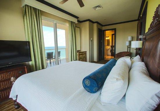 เจนเซน บีช, ฟลอริด้า: Oceanview Governor Suite - Bedroom