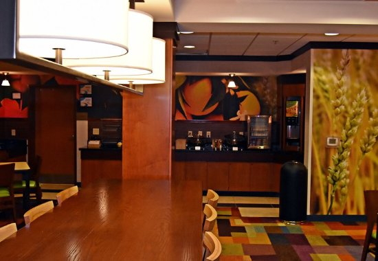 Fairfield Inn & Suites Carlisle: Breakfast Dining Area