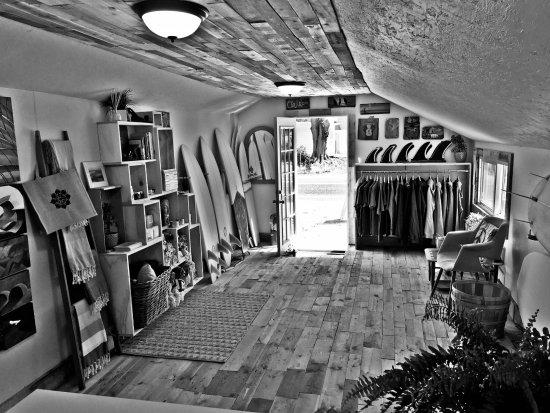 Charlestown, RI: Inside the Saltbox Surf Shop (Summer 2017)