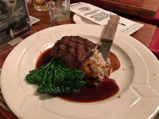 Cleveland Heights, OH: flat iron steak