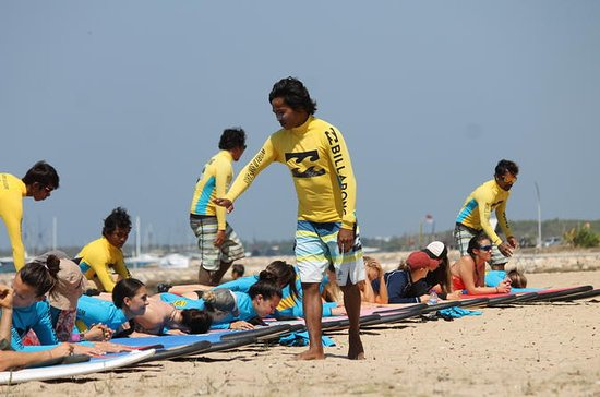 Private Full-Day Surfing Lesson in Bali