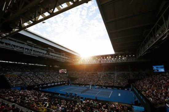 Grand Slam Oval Picture Of Australian Open Melbourne Tripadvisor