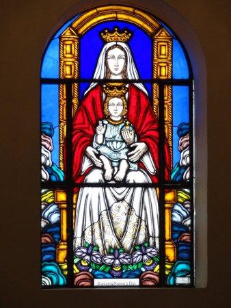 Vitral de Nuestra Señora de Coromoto