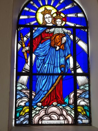 Vitral de Maria Auxiliadora