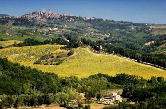 Tuscany from Rome Pienza...