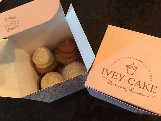 Brentwood, TN: mini cupcakes