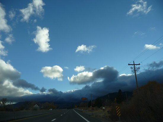 Drive from Reno to Carson City, nice views