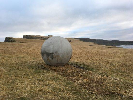 Grimsey Island, Islandia: Orbis et Globus