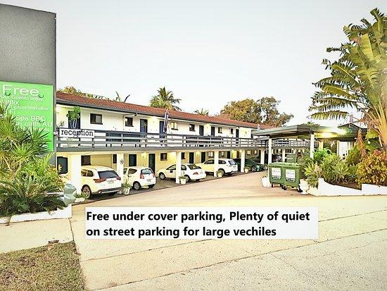 Gladstone, Australia: Aaron Motel Entrance