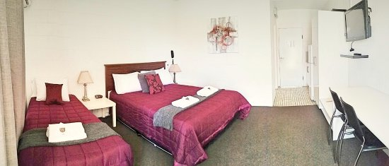 Gladstone, Australien: Twin Room 1 queen bed 1 single bed