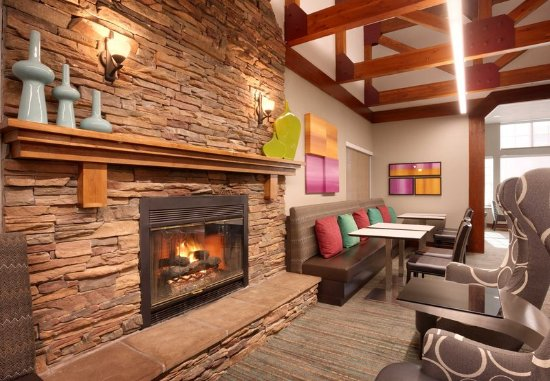 Sandy, UT: Lobby - Fireplace
