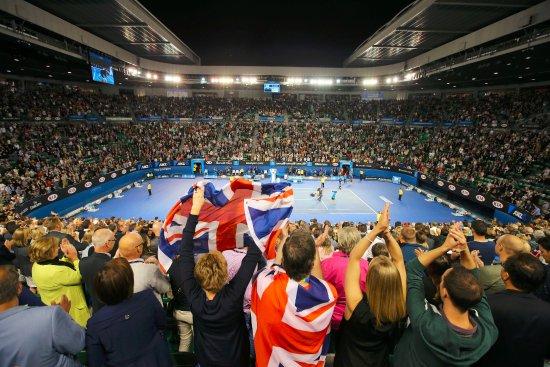 Centre Court Rod Laver Arena Picture Of Australian Open