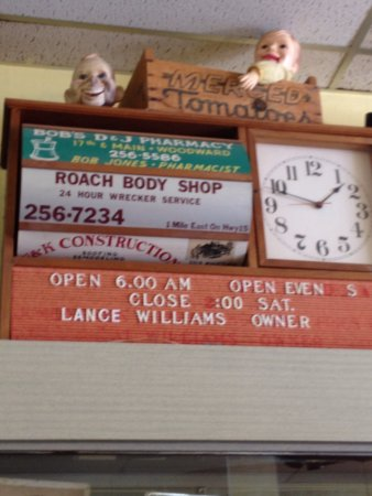 Woodward, OK: Polly Anna Cafe