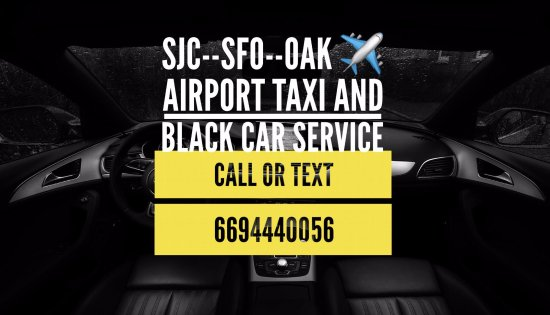 San Jose Airport taxi in bay area ca