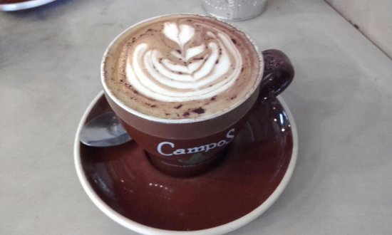 Crows Nest, Australia: Always a nice Cappuccino