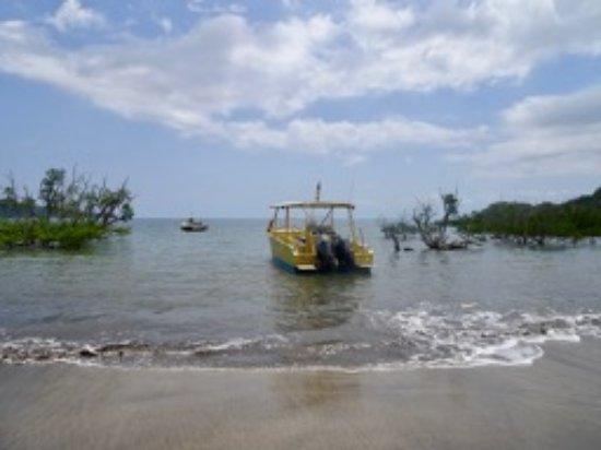 Boueni, Mayotte: Le bateau du club Abalone