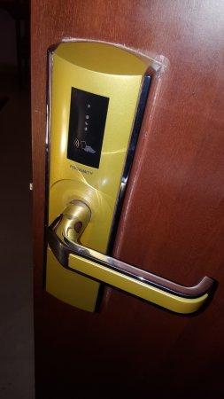 Card Sensor Door Lock Picture Of Jyothis Residency