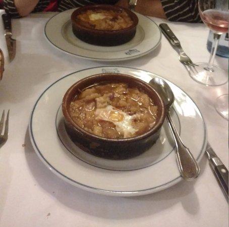 Restuarant Botin: Zuppa d'aglio