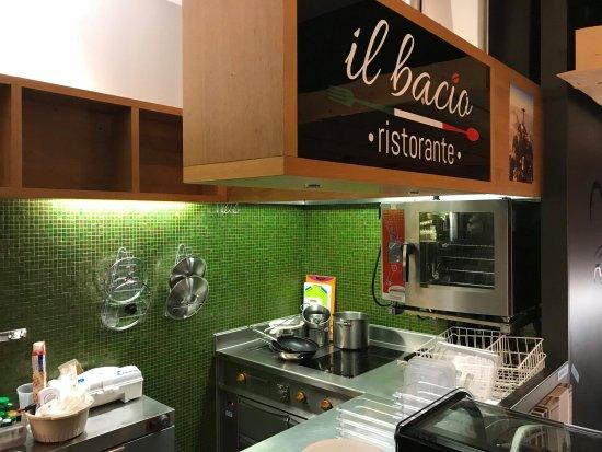 Ristorante Il Bacio: The Kitchen