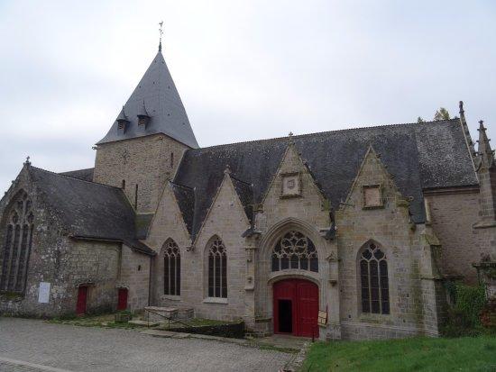 Eglise notre dame de la tronchaye rochefort en terre tourisme rochefort en terre - Office tourisme rochefort en terre ...