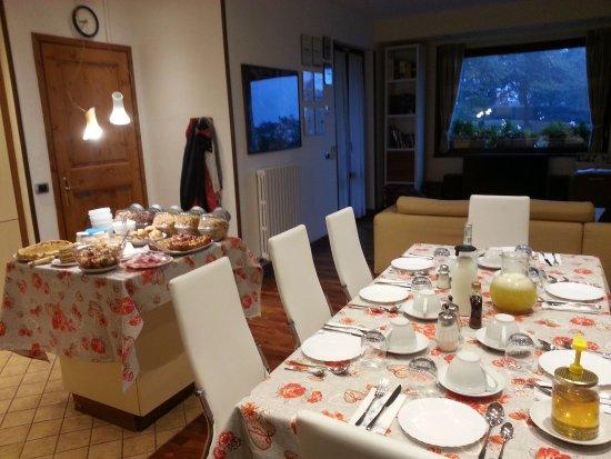 B&B Villa Beatrice: Sala colazioni